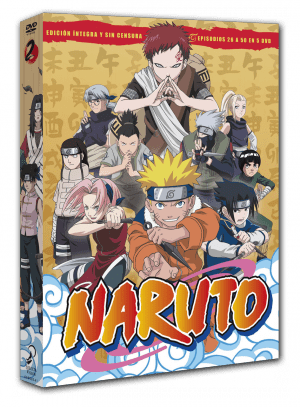 Naruto Box 2 DVD