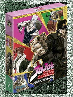 Jojo's Bizarre Adventure: Stardust Crusaders Temporada 2 Parte 2 – Edición coleccionista BD