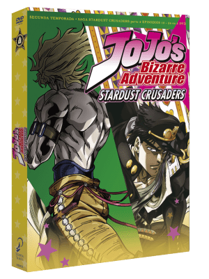 Jojo's Bizarre Adventure: Stardust Crusaders Temporada 2 Parte 2 DVD
