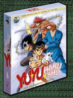 Yu Yu Hakusho Box 1 – Edición coleccionista BD