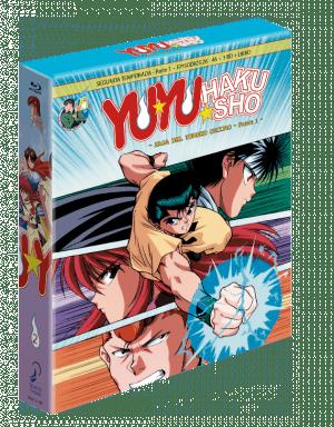 Yu Yu Hakusho Box 2 – Edición coleccionista BD