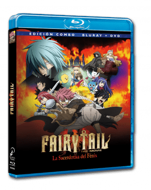Fairy Tail: La Sacerdotisa del Fénix BD+DVD