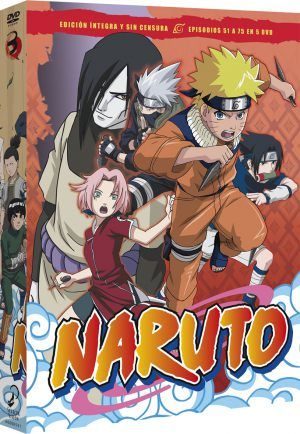 Naruto Box 3 DVD