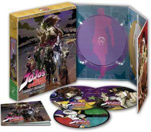Jojo´s Bizarre Adventure Stardust Crusaders Temporada 2 Parte 3 Edición Coleccionista BD