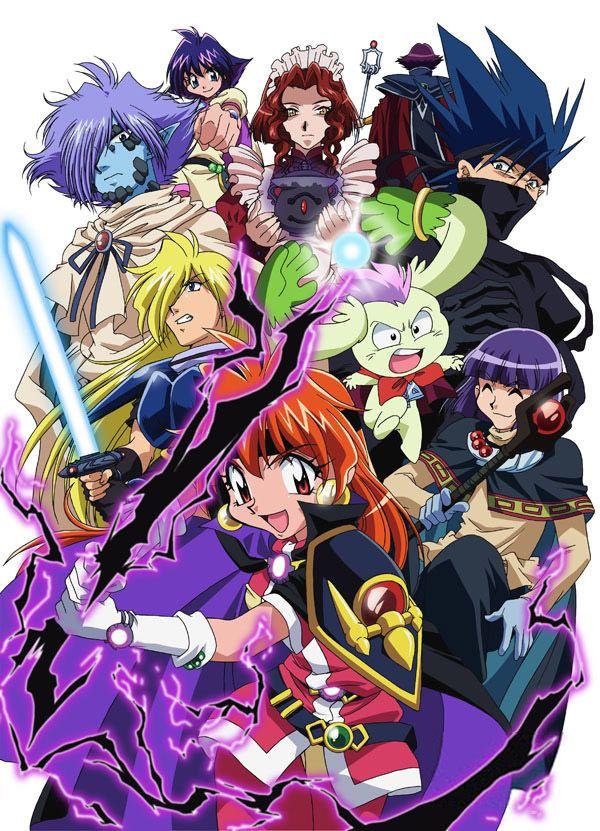 slayers revolution anime