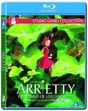 Arrietty y El mundo de los diminutos BD
