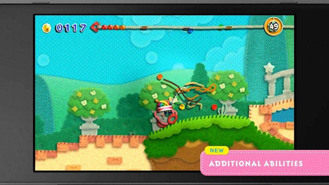 Anunciado Mas Kirby En El Reino De Los Hilos Para Nintendo 3ds