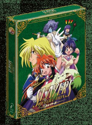 Slayers Revolution Edición Coleccionista BD