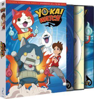 Yo-Kai Watch – Temporada 2 Parte 4 DVD