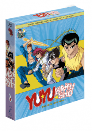 Yu Yu Hakusho Box 4 – Edición Coleccionista BD