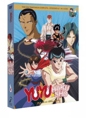 Yu Yu Hakusho Box 4 DVD