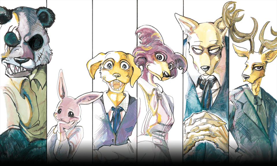 Anunciada colaboración entre Sanrio y Beastars