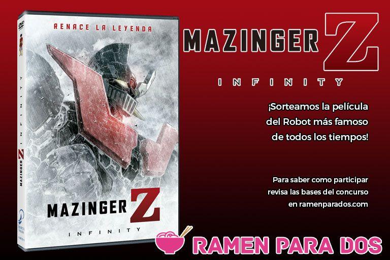 Concurso Mazinger Z Infinity