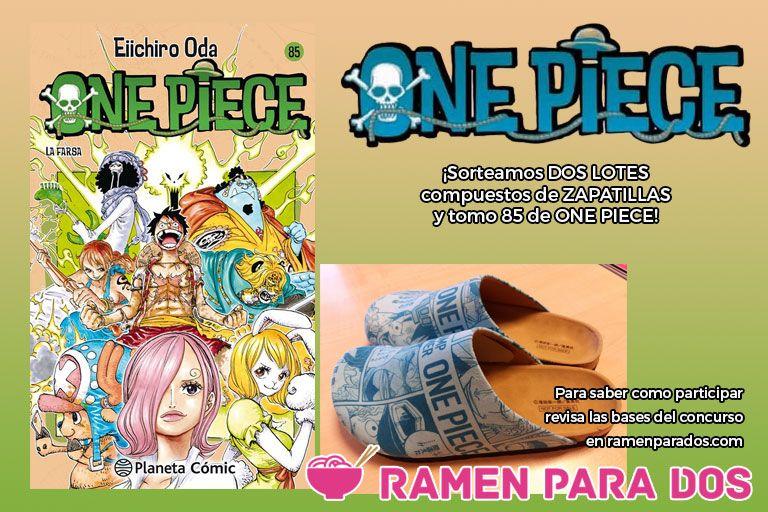 Concurso One Piece 85