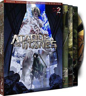 Ataque a los titanes Temporada 1 Parte 2 DVD