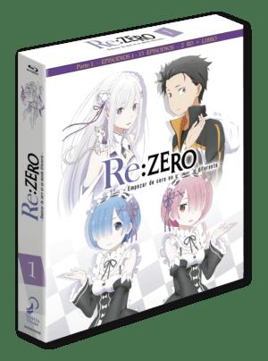 Re:Zero Box 1 – Edición coleccionista BD