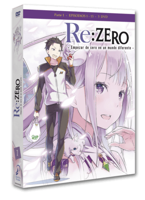 Re:Zero Box 1 DVD