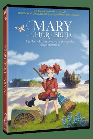 Mary y la flor de la bruja DVD
