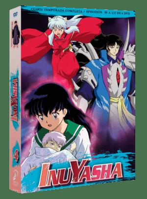 Inuyasha Box 4 DVD