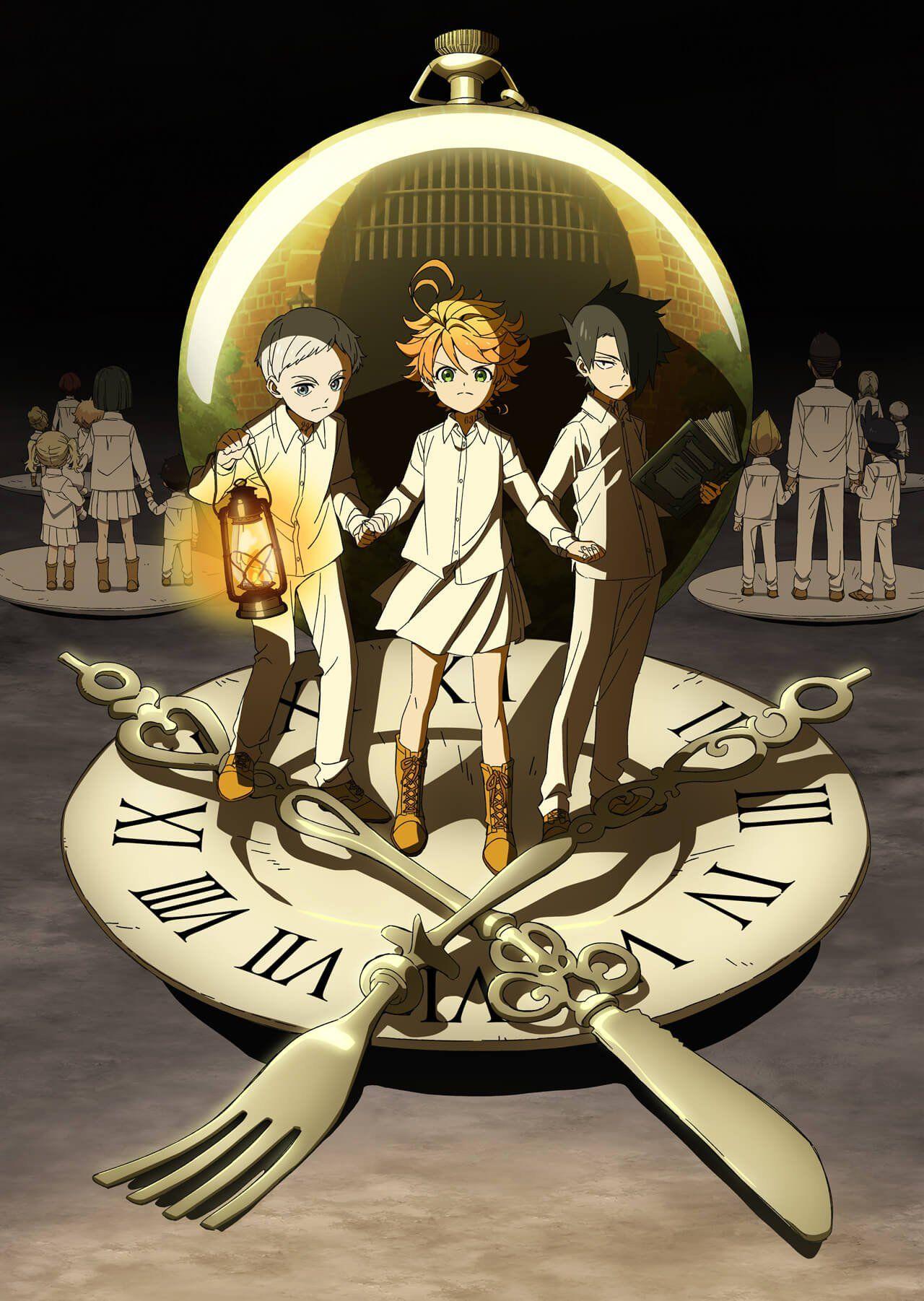 El anime de The Promised Neverland contará con 12 episodios - Ramen Para Dos