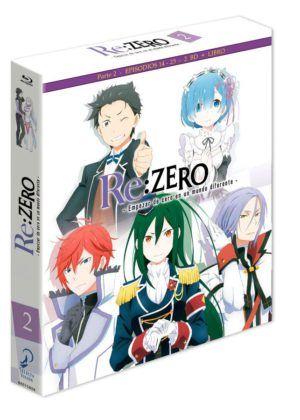 Re:Zero Box 2- Edición Coleccionista BD