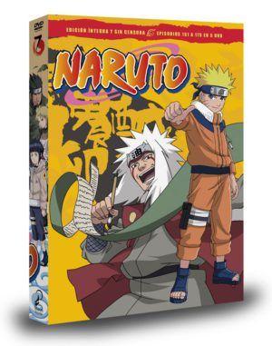 Naruto Box 7 DVD