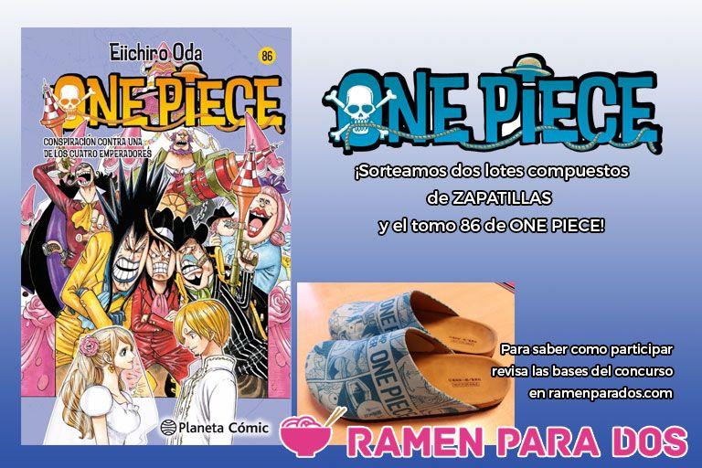 Concurso One Piece 86