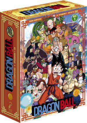 Dragon Ball: Sagas Completas Box 1 DVD – Episodio 1 a 68