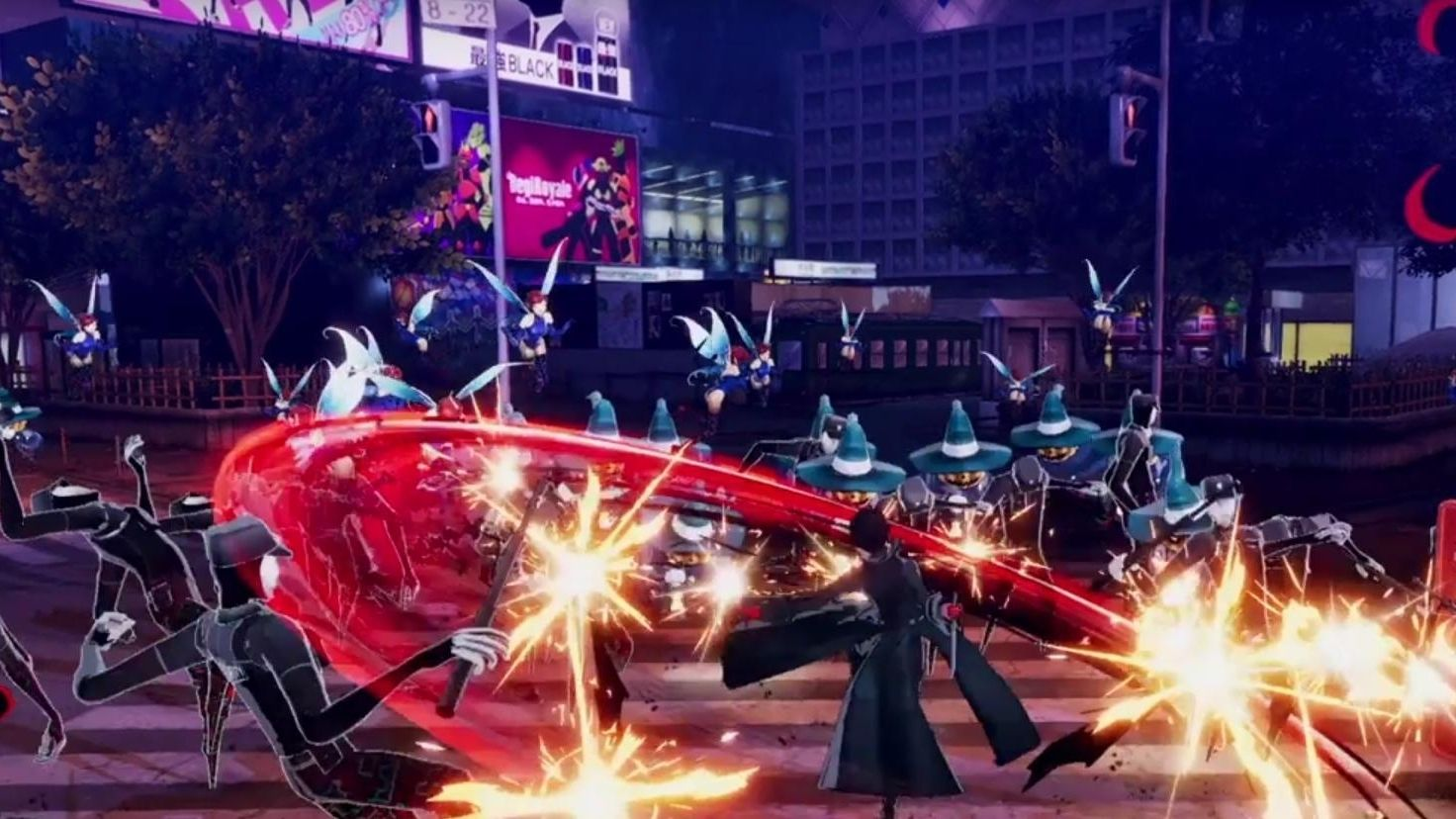 Anunciado Persona 5 Scramble: The Phantom Strikers para Nintendo Switch