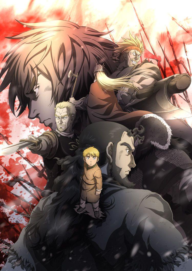 951ec93a4 Nuevo tráiler y fecha de estreno para el anime de Vinland Saga ...