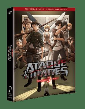 Ataque a los Titanes – Temporada 3 Parte 1 DVD