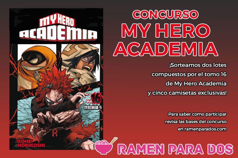 Concurso My Hero Academia 16