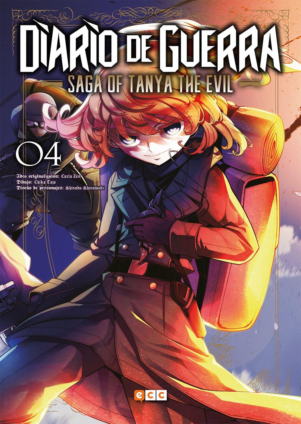 Diario de guerra – Saga of Tanya the Evil 4