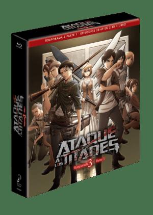 Ataque a los Titanes – Temporada 3 Parte – Edición Coleccionista BD