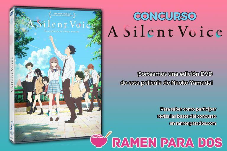 Concurso A Silent Voice DVD