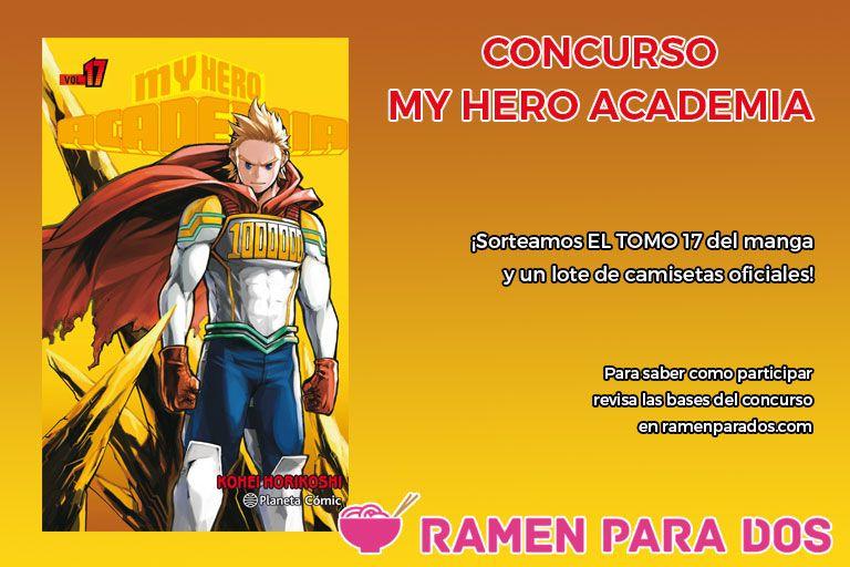 Concurso My Hero Academia 17