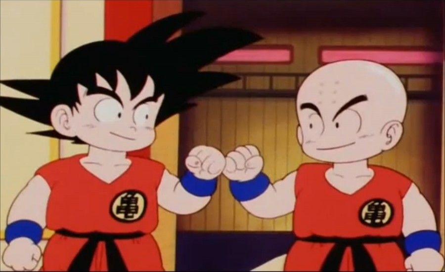 Tema para decir lo que quieras! (EL DIA QUE EL FORO SE DETUVO) XD - Página 39 Goku-krilin-dragon-ball