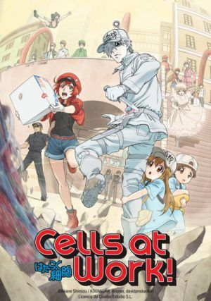 Cells at Work! Parte 1 BD