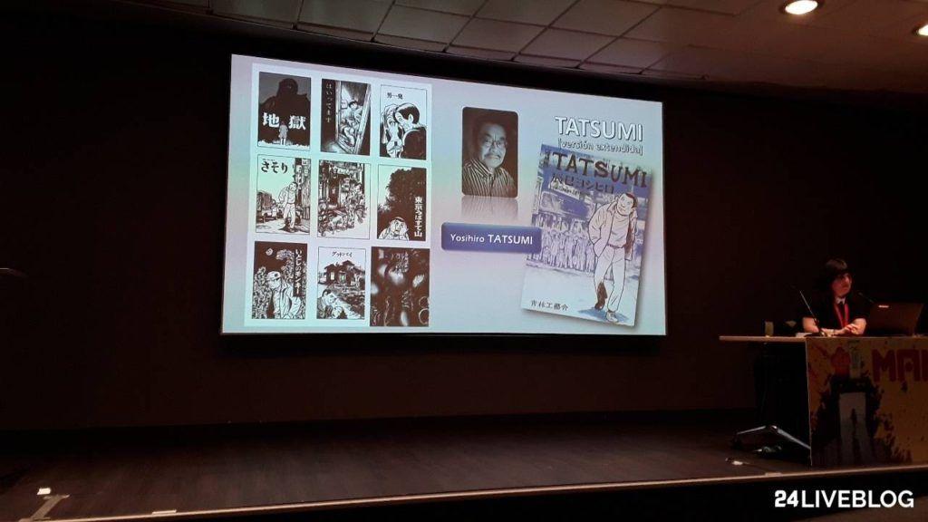 Yoshihiro Tatsumi presentacion