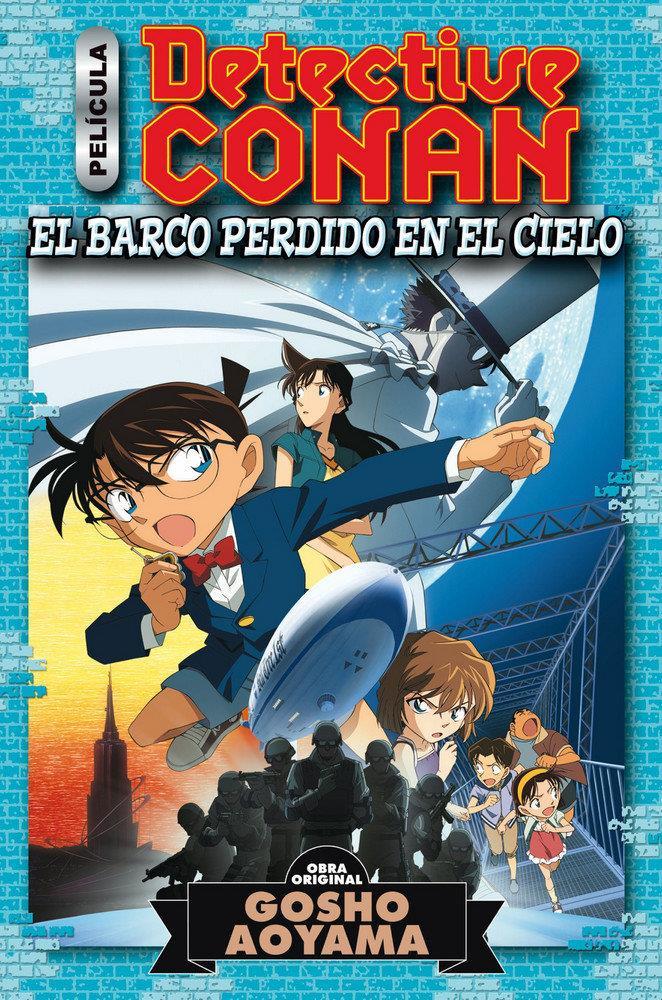 Detective Conan Anime Comic El barco perdido en el cielo