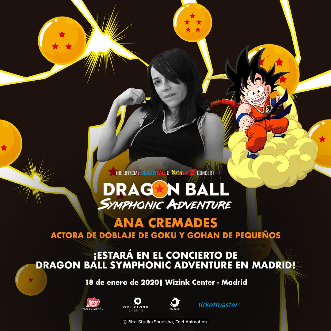 Ana cremades dragon ball symphonic adventure