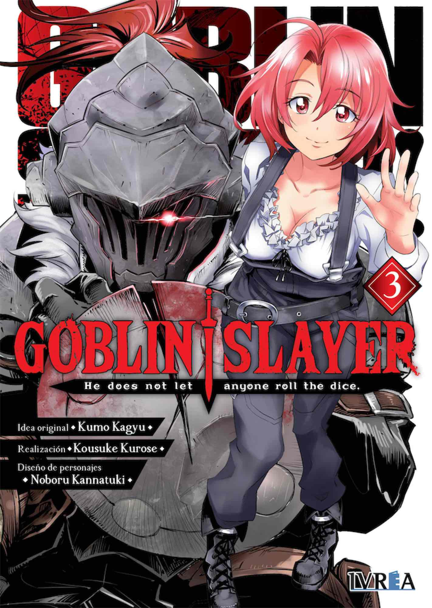 Goblin Slayer manga 3