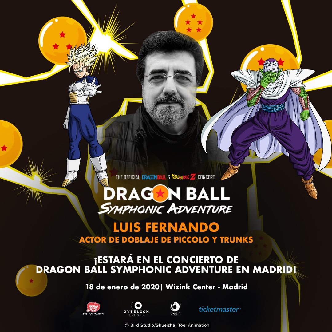 Luis Fernando dragon ball symphonic adventure