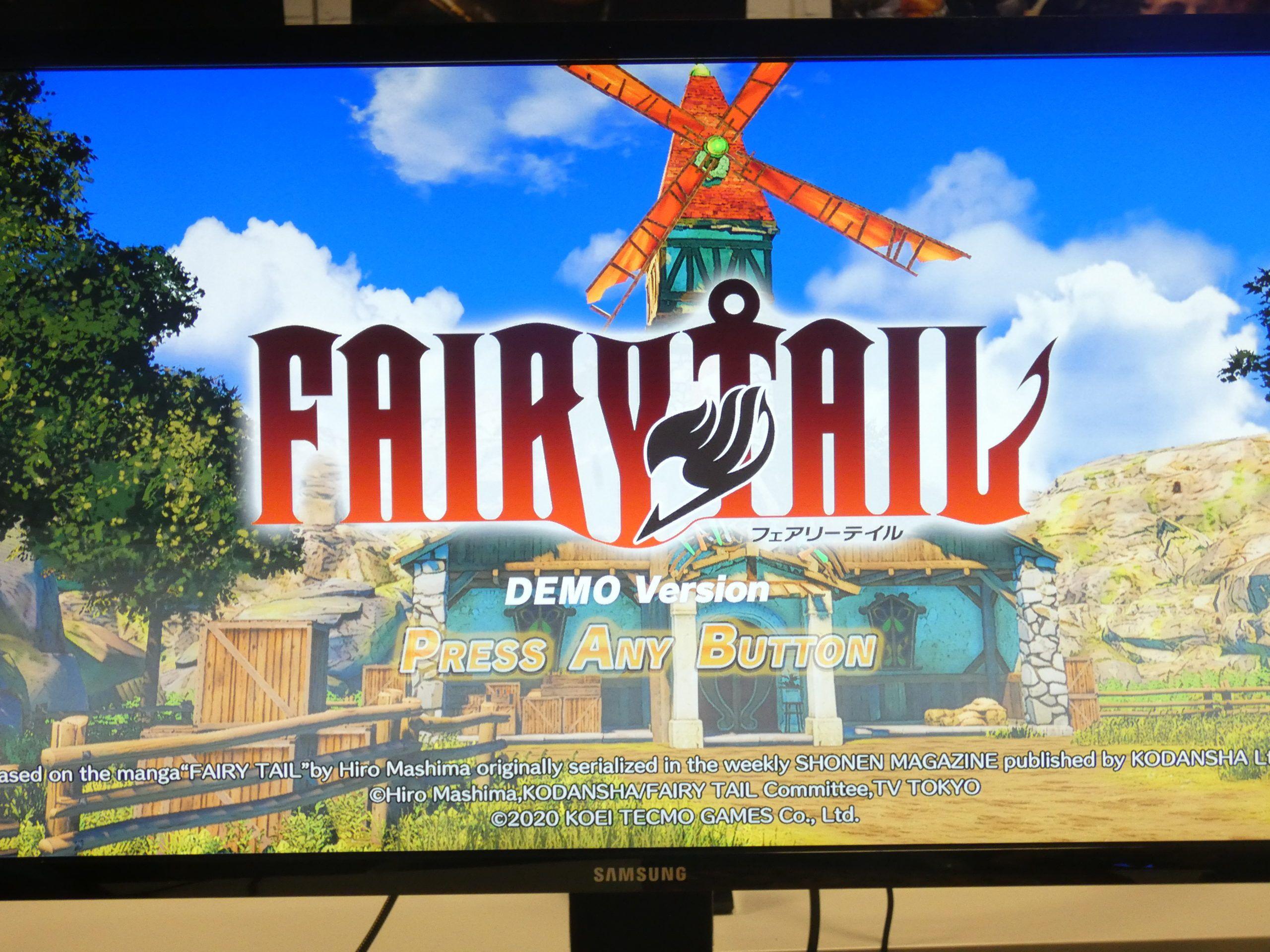 fairy tail videojuego