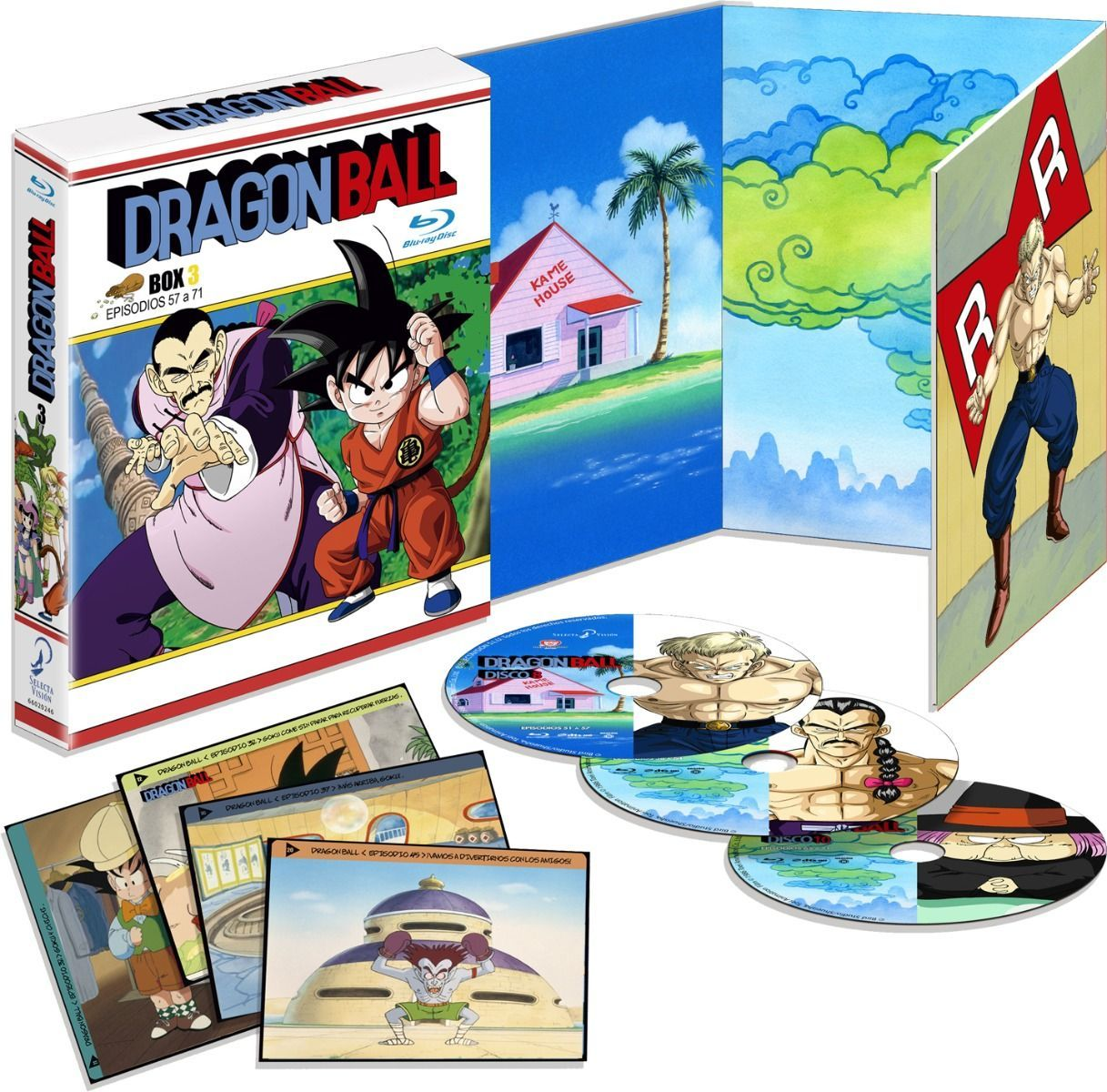 Dragon Ball box 3 bd