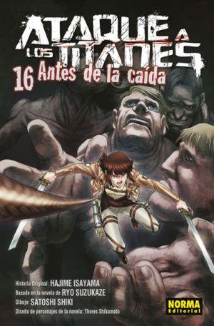 Ataque a los titanes: Antes de la caída #16
