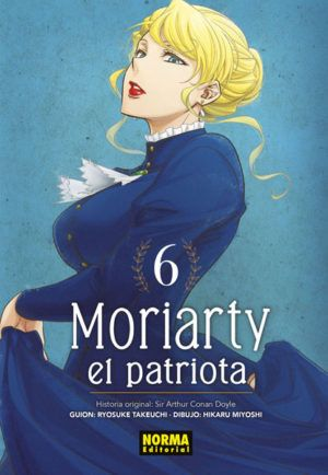 Moriarty, el patriota #6
