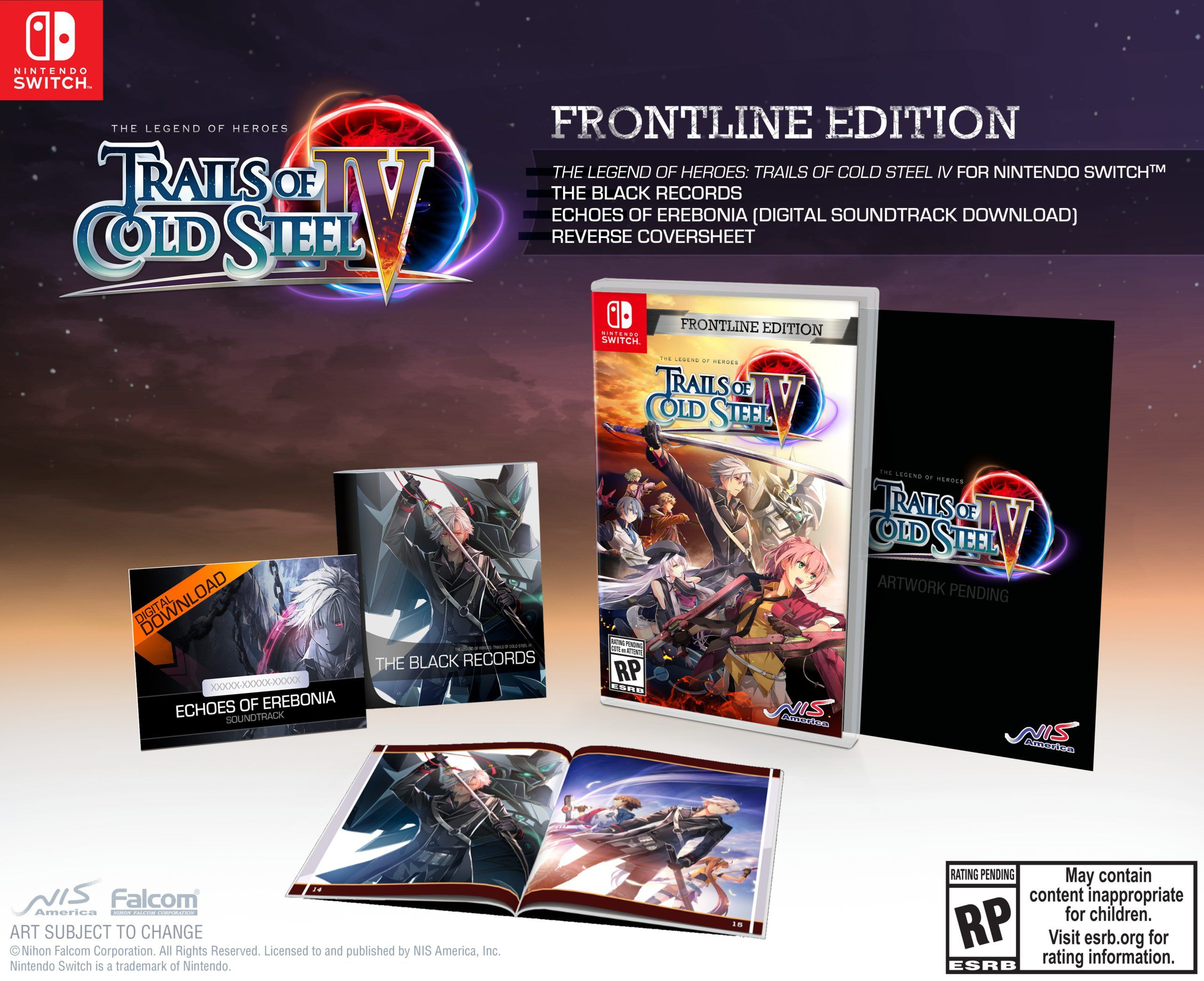 Trails of Cold Steel IV NSW