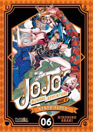 Jojo's Bizarre Adventure part V: Vento Aureo #6