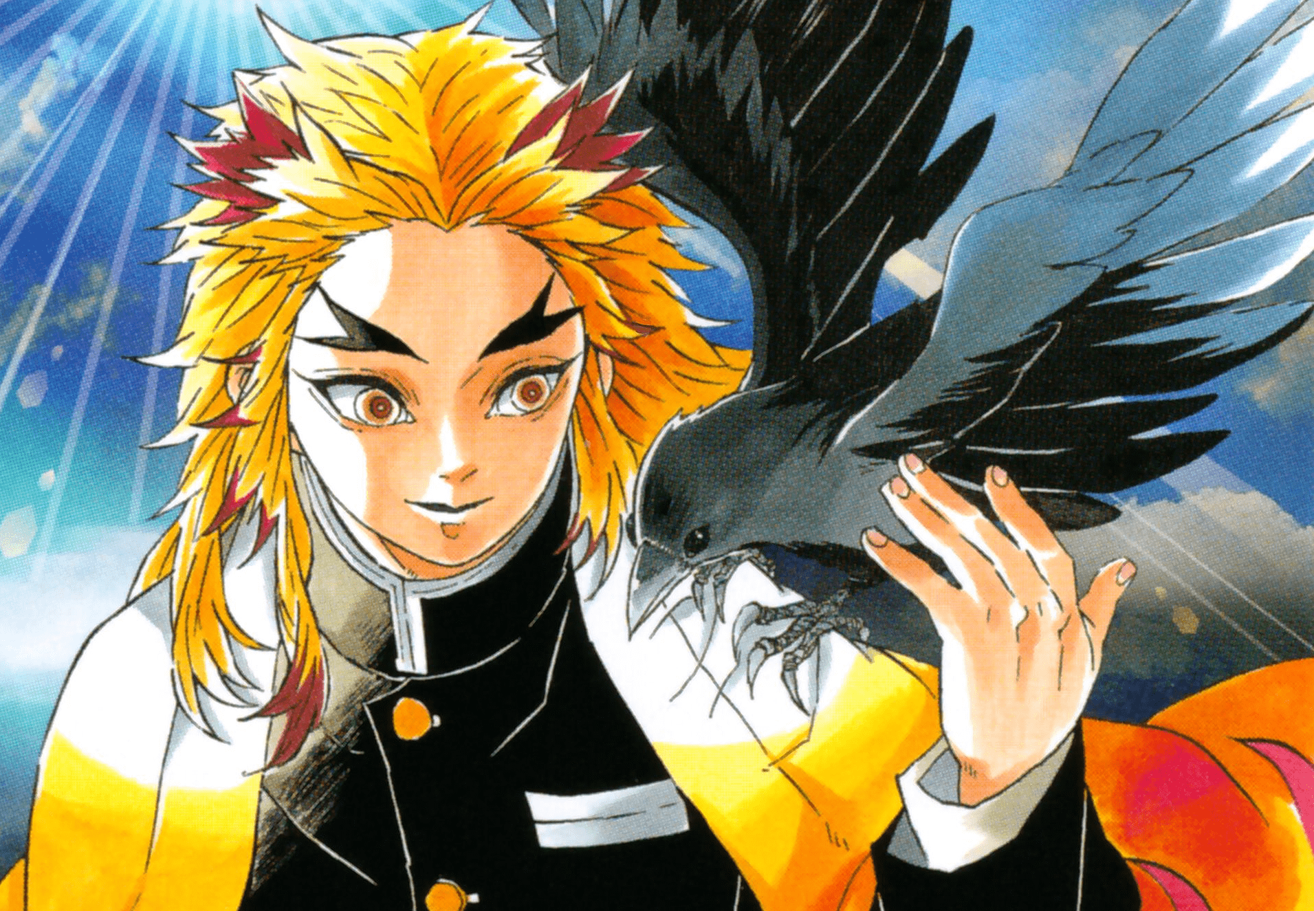 rengoku kimetsu manga - Ramen Para Dos